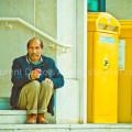 Alone - Place de Bretagne - Nantes - Loire-Atlantique - 44000 - France - 2012 - © All rights reserved by Laurent Dubois