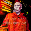 Where's the future? - peinture à l'huile / oil painting (64x73 cm) - model : Jack de Marseille - © All rights reserved by Laurent Dubois