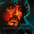 Hope - peinture à l'huile / oil painting (31x41 cm) - model Takeshi Kaneshiro - © All rights reserved by Laurent Dubois