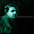Inspirated - peinture à l'huile / oil painting (38x55 cm) - model : Laurent Garnier - © All rights reserved by Laurent Dubois