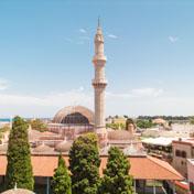 Mosquée de Soliman - Rhodes - Dodecanese - Greece